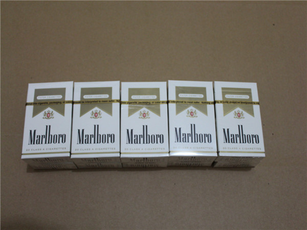 Local Produced Marlboro Gold Regular Cigarettes 1 Carton