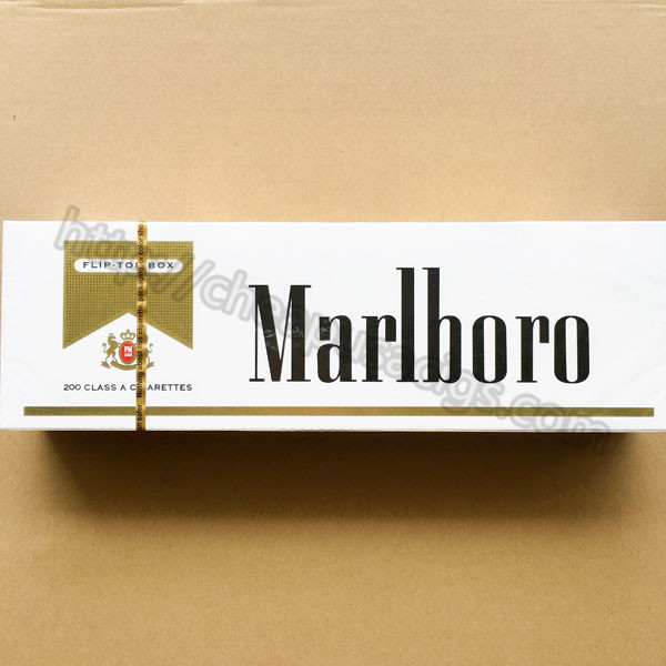 Quality Marlboro Gold Regular Cigarettes 10 Cartons