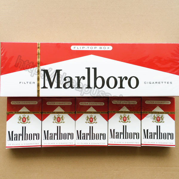 Free Shipping Marlboro Red Regular Cigarettes 100 Cartons